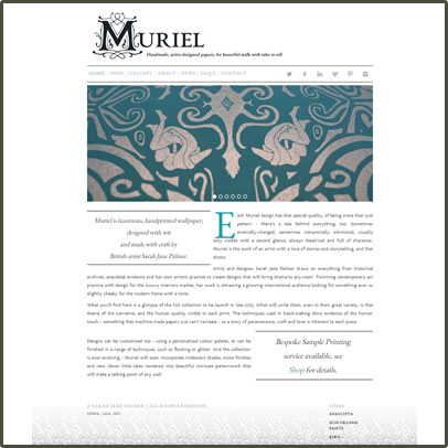 Muriel Design Website Link
