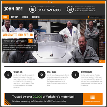 John Bee Ltd Website Link